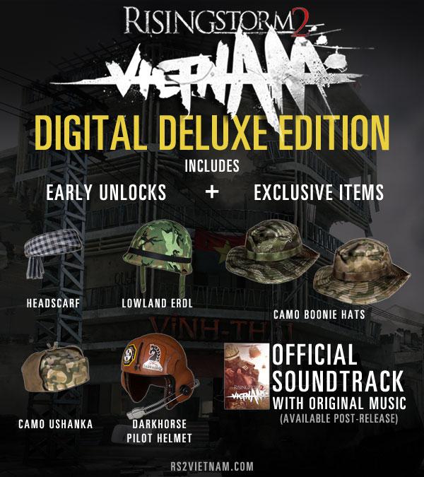 Rising Storm 2 Vietnam Deluxe издание